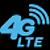 4G LTE icon