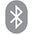 Bluetooth on icon