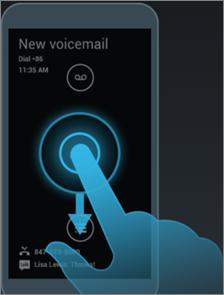 Moto X active display, unlock screen