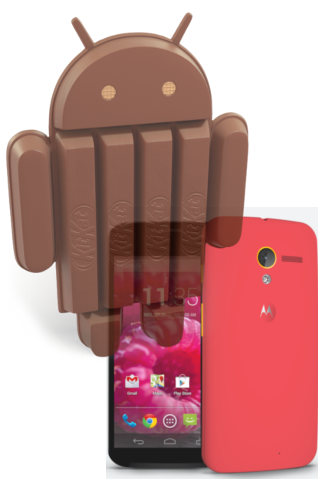 Moto X  with Android 4.4 kitkat